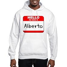 Hello my name is Alberto Hoodie