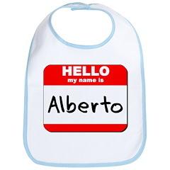 Hello my name is Alberto Bib