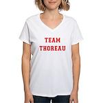 Team Thoreau Women's V-Neck T-Shirt
