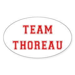 Team Thoreau Oval Decal