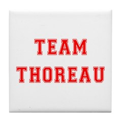 Team Thoreau Tile Coaster