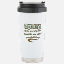 Nanny of Gifted Grandchildren Travel Mug