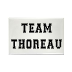 Team Thoreau Rectangle Magnet (10 pack)