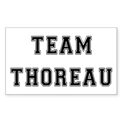 Team Thoreau Rectangle Decal
