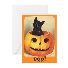 JackOLantern Halloween Greeting Cards (Pk of 6)