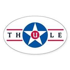 Thule Air Base Oval Decal