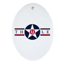Thule Air Base Oval Ornament