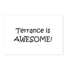 Terrance Postcards (Package of 8)