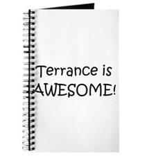 Cool Terrance name Journal