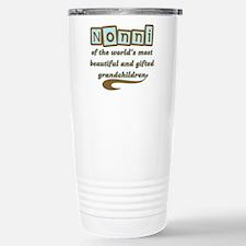Nonni of Gifted Grandchildren Travel Mug