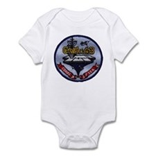 USS CORAL SEA Infant Bodysuit