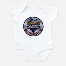USS CORAL SEA Infant Bodysuit