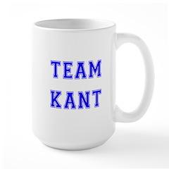 Team Kant Large Mug