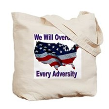 Overcome Adversity Tote Bag