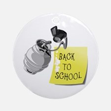 Keg party. Back to School Ornament (Round)