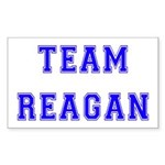 Team Reagan Rectangle Sticker