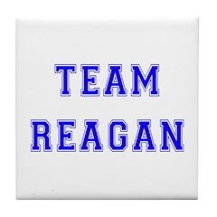 Team Reagan Tile Coaster