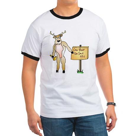 Clever Deer Ringer T