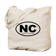 'NORTH CAROLINA' Tote Bag