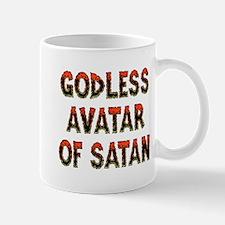 Godless Avatar of Satan Mug
