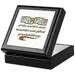 PapPap of Gifted Grandchildren Keepsake Box