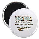 PapPap of Gifted Grandchildren Magnet
