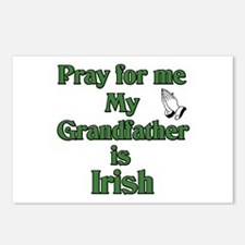 Pray for me My Grandfather is Postcards (Package o