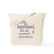 US Financial depression Tote Bag