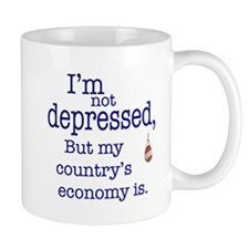 US Financial depression Mug