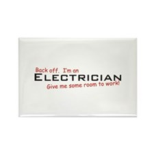 Electrician / Work! Rectangle Magnet
