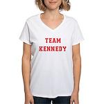 Team Kennedy Women's V-Neck T-Shirt