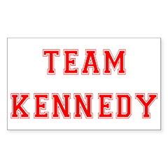 Team Kennedy Rectangle Sticker