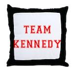Team Kennedy Throw Pillow