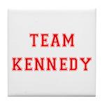 Team Kennedy Tile Coaster