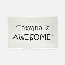 Funny Tatyana Rectangle Magnet
