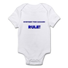 Investment Fund Managers Rule! Infant Bodysuit
