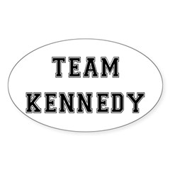 Team Kennedy Oval Decal