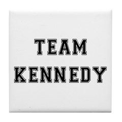 Team Kennedy Tile Coaster