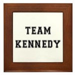 Team Kennedy Framed Tile