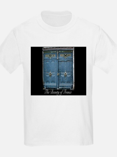 Blue Entrance Kids T-Shirt