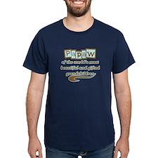 Papaw of Gifted Grandchildren T-Shirt