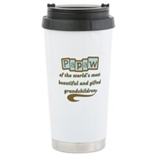 Papaw of Gifted Grandchildren Travel Mug