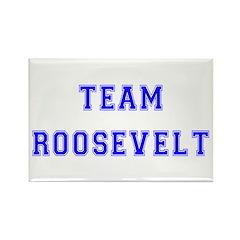 Team Roosevelt Rectangle Magnet