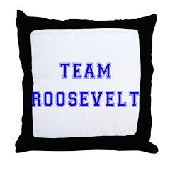 Team Roosevelt Throw Pillow