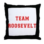 Team Roosevelt Throw Pillow