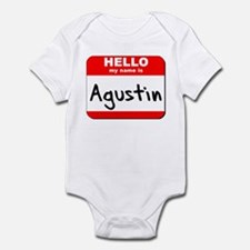 Hello my name is Agustin Infant Bodysuit