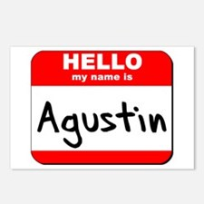 Hello my name is Agustin Postcards (Package of 8)