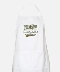 Papou of Gifted Grandchildren BBQ Apron