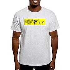 share the tornado path T-Shirt