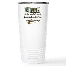 Pappy of Gifted Grandchildren Travel Mug